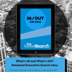 Retained Executive Search Industry What's In What's Out List 2014