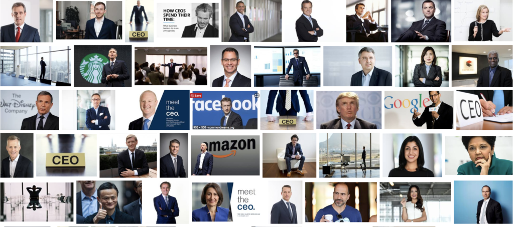 """Google CEO images from a search for """"CEO"""" 12/5/2017 at 7.24.25 PM"""