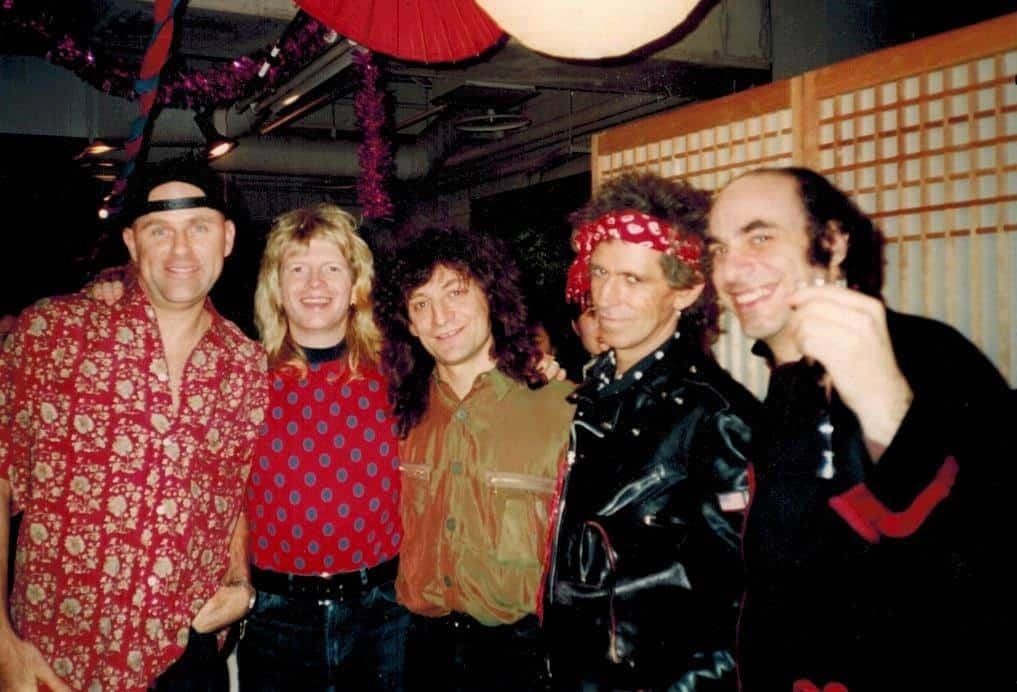 Uptown Horns with Keith Richards