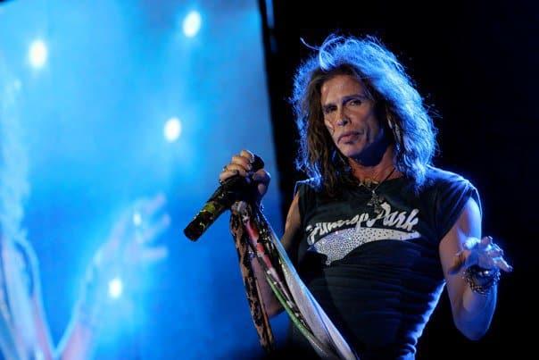 Steven Tyler Aerosmith J Geils Concert Fenway 2010