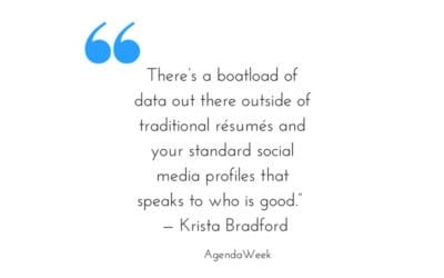 Moneyball in Recruiting | Agenda Week Interviews our CEO