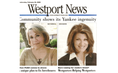 Westport News Article: The Good Search Helps Downsized Executives