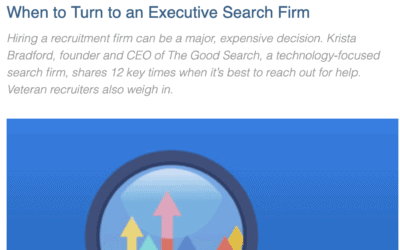 Executive Search News | Hunt Scanlon Features The Good Search CEO