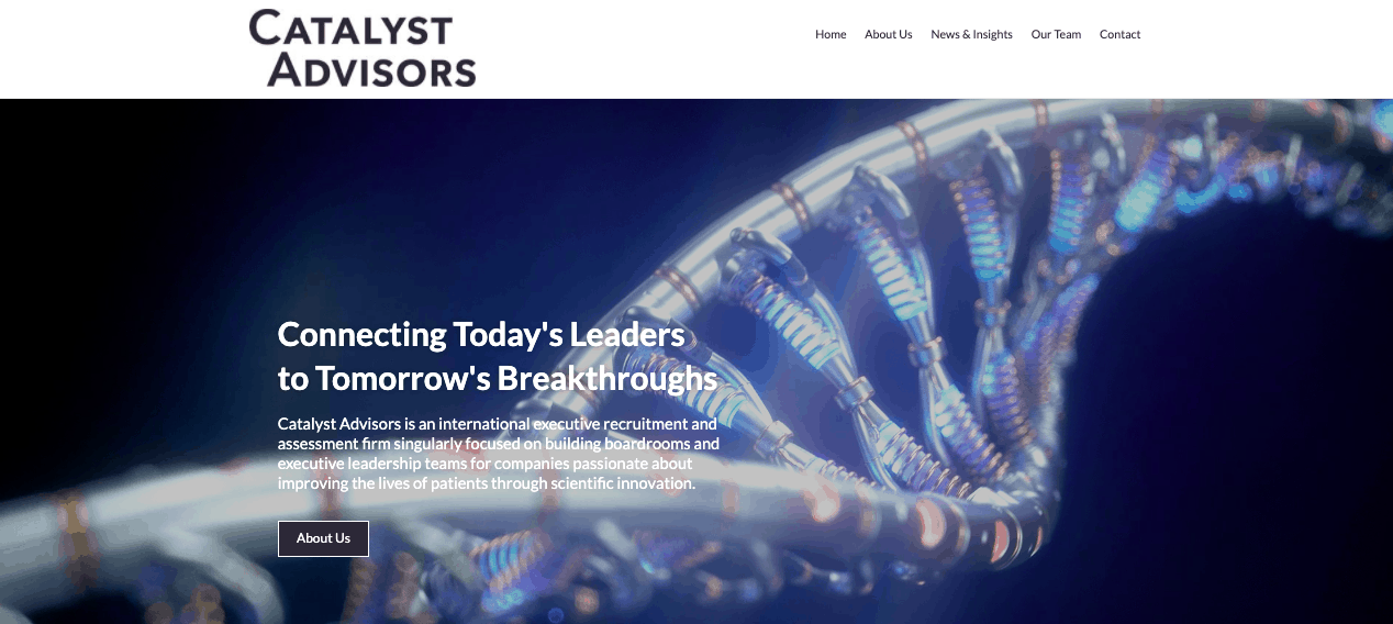 Catalyst Advisors is a NYC executive search firm